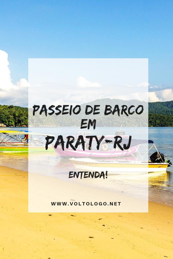 Passeio de barco em Paraty, no Rio de Janeiro: Descubra as opções disponíveis, e se é melhor você fazer um passeio de escuna ou lancha.