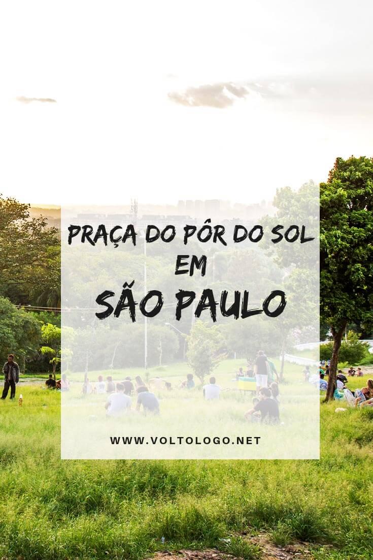 Praça do Pôr do Sol, em São Paulo: Descubra como é o lugar mais concorrido para o fim de tarde em São Paulo, como chegar e o que mais há por lá.
