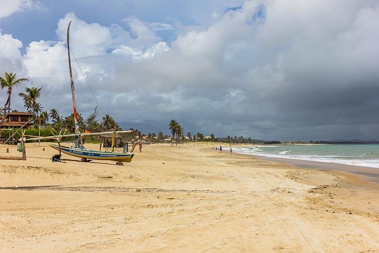 Praia do Cumbuco, em Fortaleza