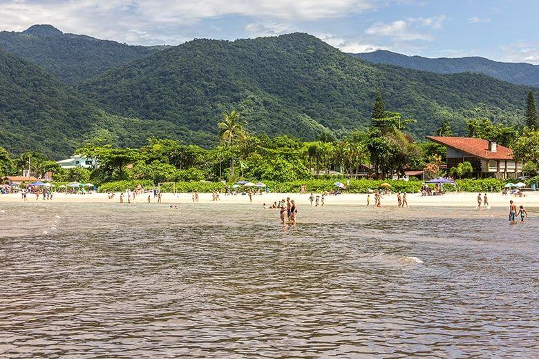 Praia da Lagoinha em Ubatuba - trilha