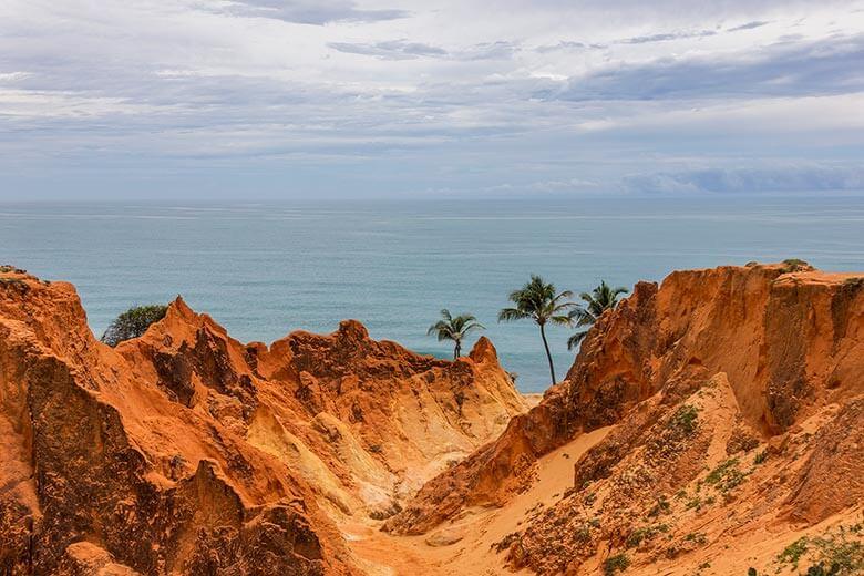 melhores praias do Ceará - Morro Branco