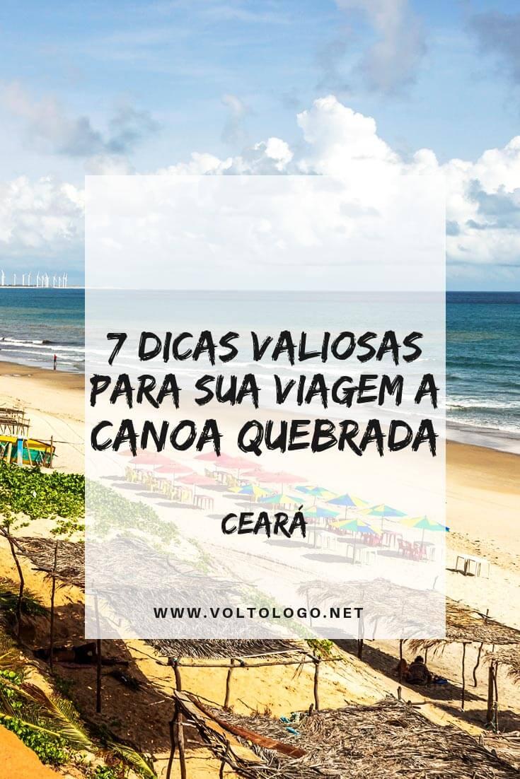 Viagem a Canoa Quebrada, no Ceará: Dicas práticas para organizar suas férias. Descubra quando ir, quantos dias ficar, como chegar, onde se hospedar e o que fazer na cidade.