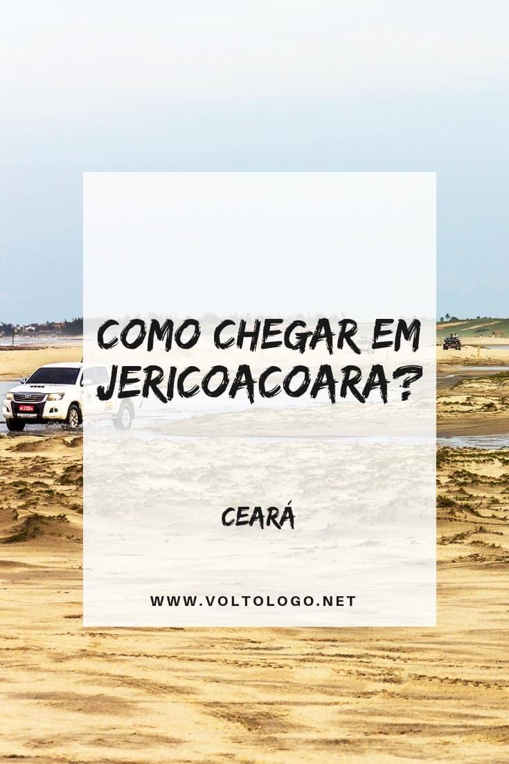 Como chegar em Jericoacoara: Descubra quais os meios de transporte para ir até Jeri, e quais as vantagens e desvantagens de cada um deles. (Carro, transfer ônibus e avião!)