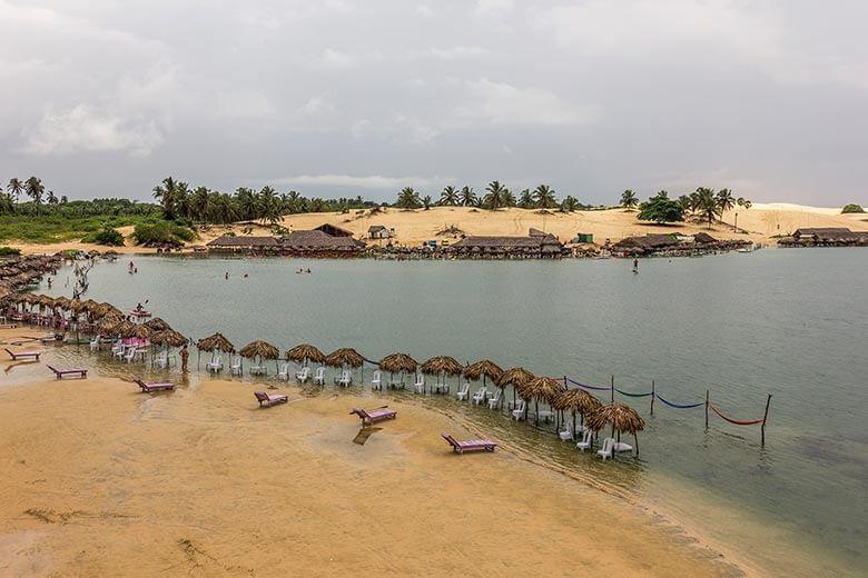 lagoas em Jericoacoara