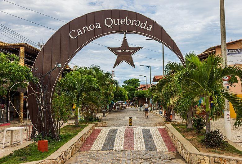 lugares para ficar em Canoa Quebrada