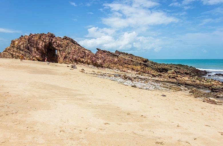 Praia da Pedra Furada em Jericoacoara