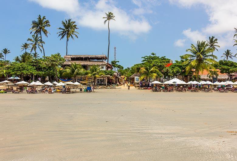Praia Principal - Jericoacoara - Ceará