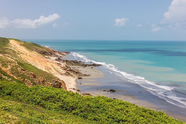 melhores praias de Jericoacoara