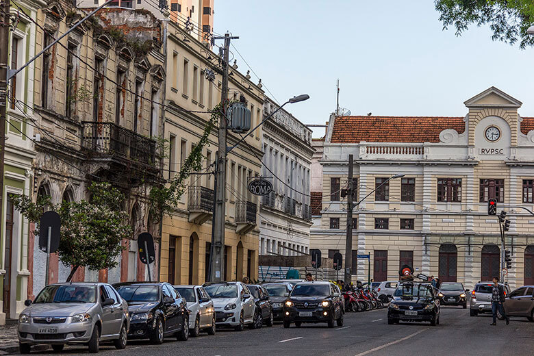 hotéis no centro de Curitiba