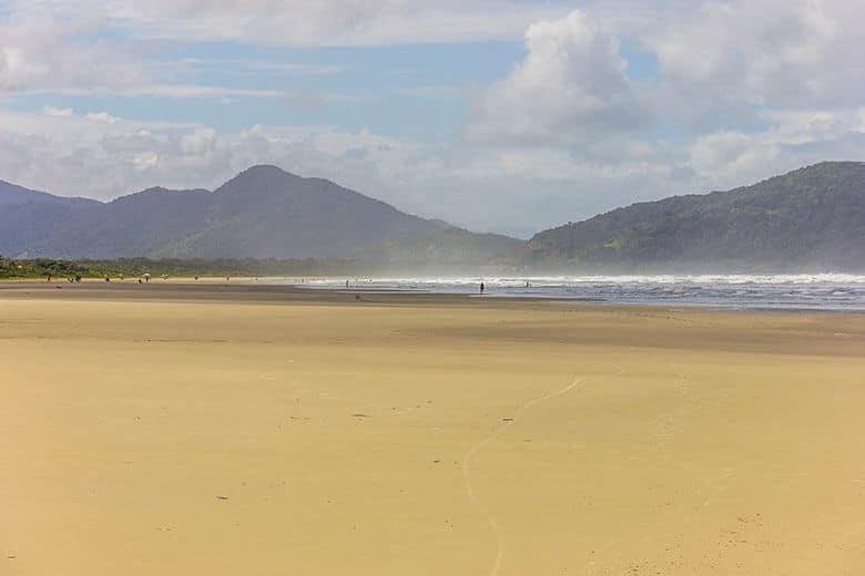 Praia da Boracéia em Bertioga
