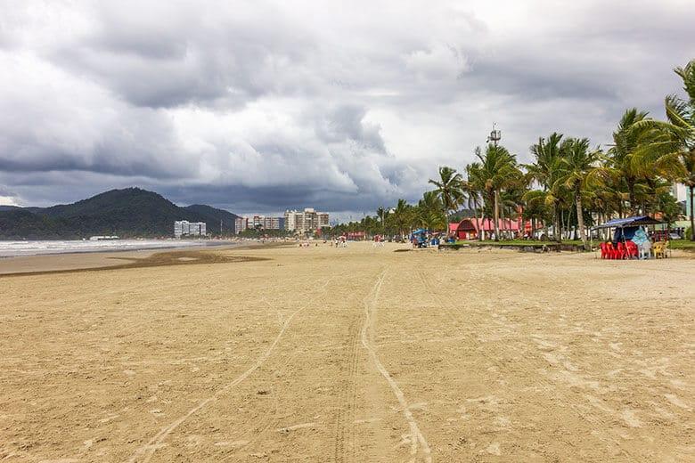 Praia da Enseada em Bertioga