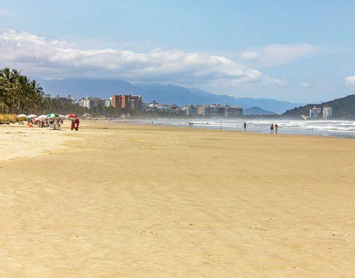 principais praias de Bertioga