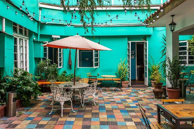 lugar para ficar em Santiago durante viagem