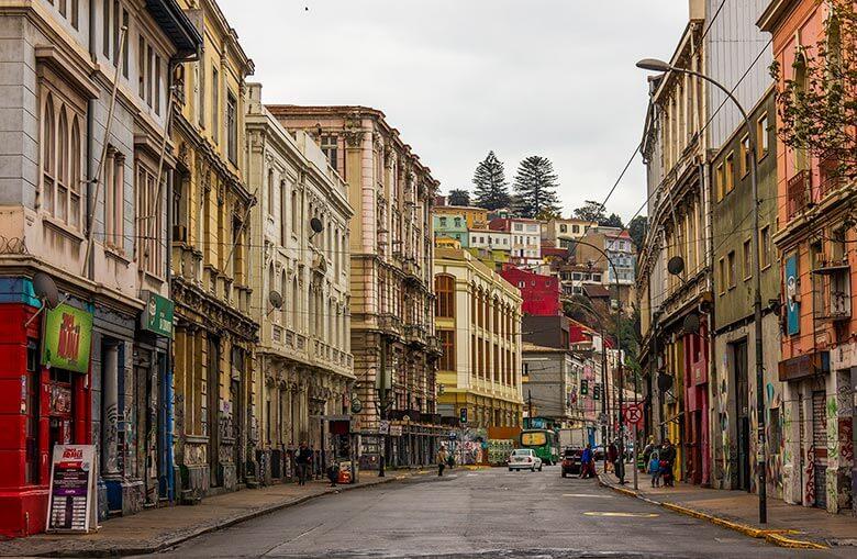 acomodação em Valparaíso