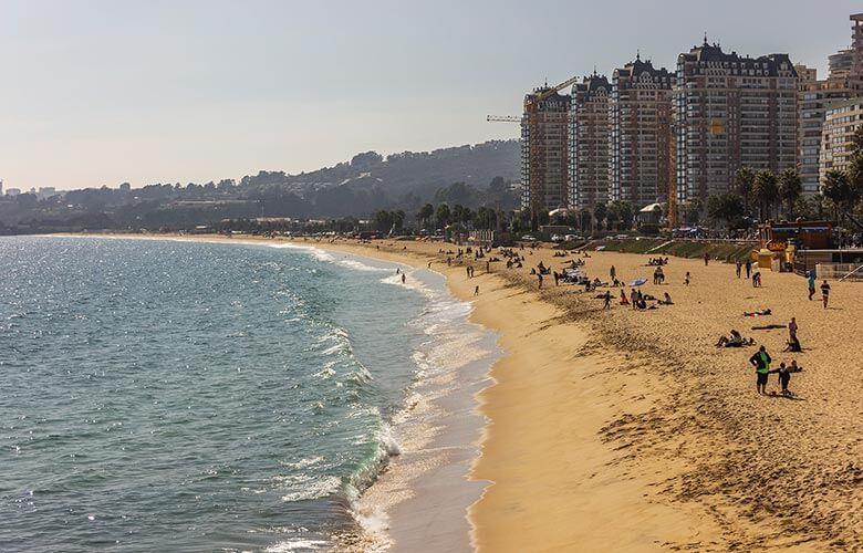 melhores bairros para se hospedar em Viña del Mar
