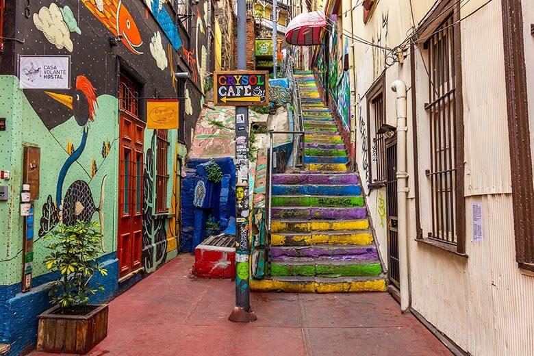 melhores bairros para ficar em Valparaíso