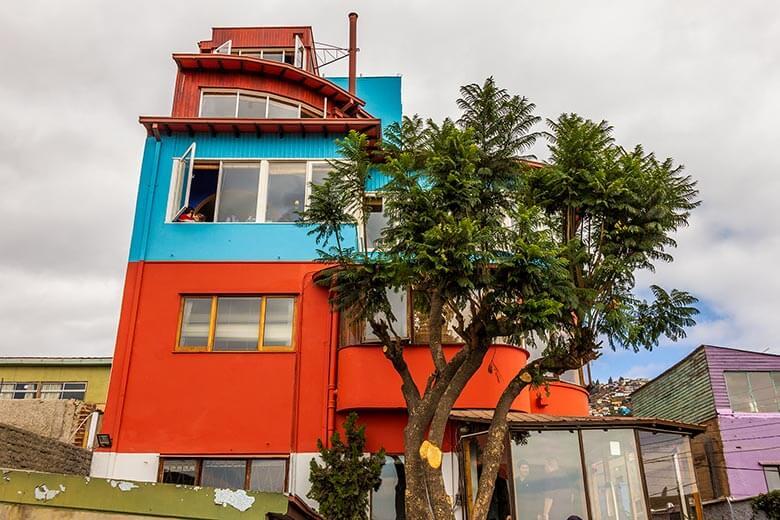 casa de Pablo Neruda em Valparaíso