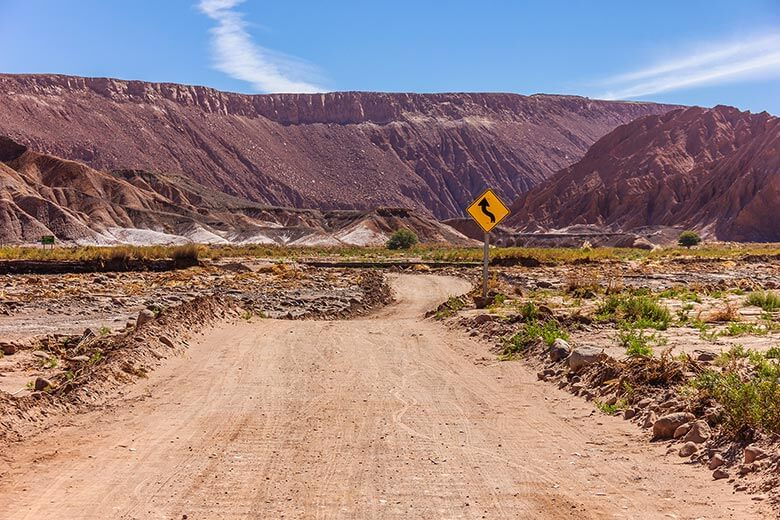 Catarpe, no Atacama