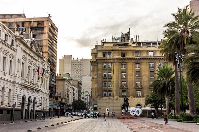 hospedagem no centro de Santiago