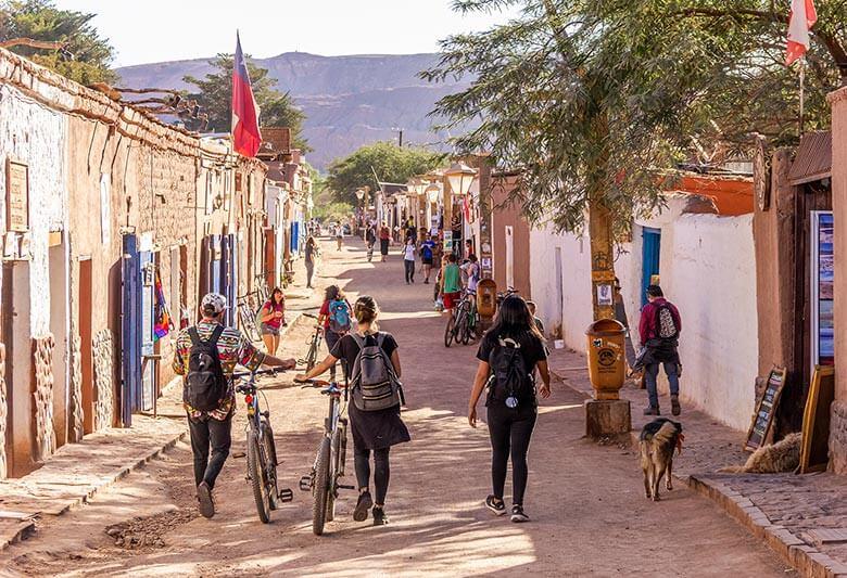 hospedagem na Rua Caracoles, no Atacama