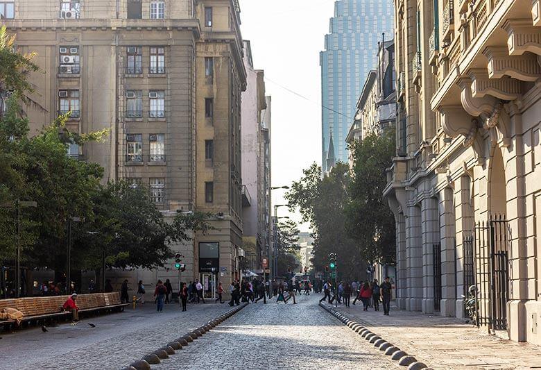 lugares baratos para ficar em Santiago