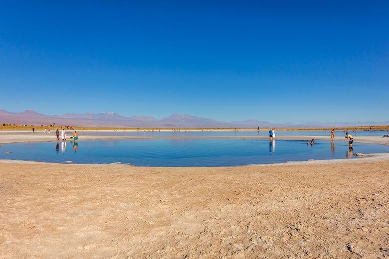 Laguna Piedras no Deserto do Atacama