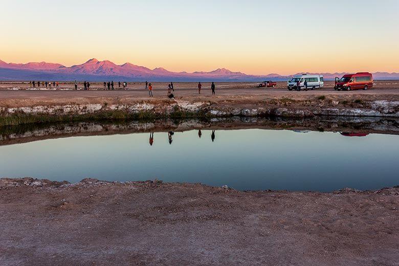 Lagunas Ojos del Salar - Deserto do Atacama