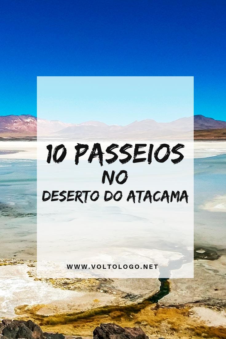 Passeios no Deserto do Atacama, no Chile: Descubra quais são os melhores tours para você incluir no seu roteiro de viagem, quanto custa, quanto tempo dura e quais lugares você visita em cada um deles!