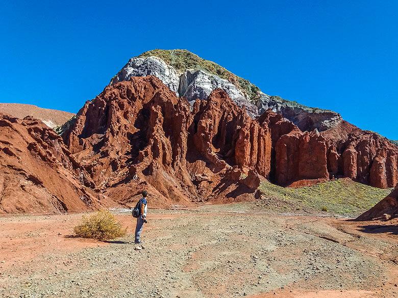 passeio para o Valle del Arco Iris no Atacama - dicas