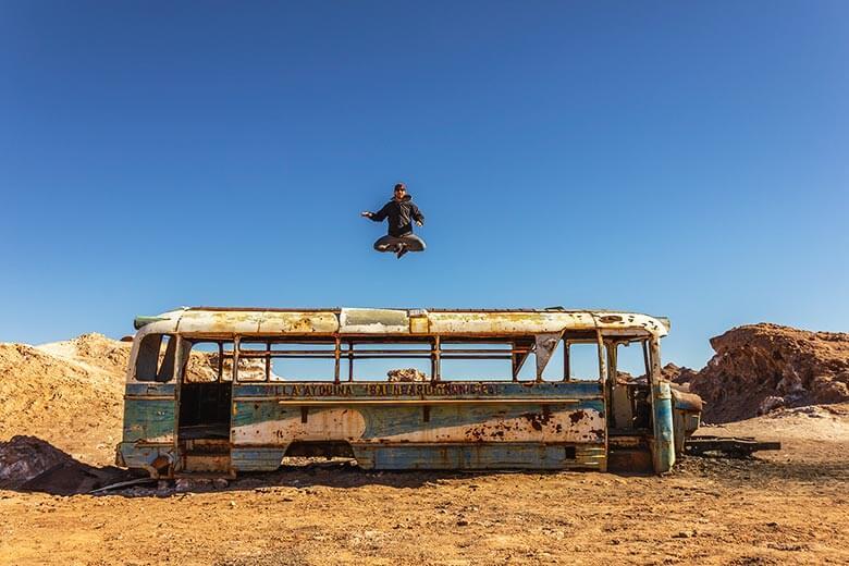 ônibus do Deserto do Atacama