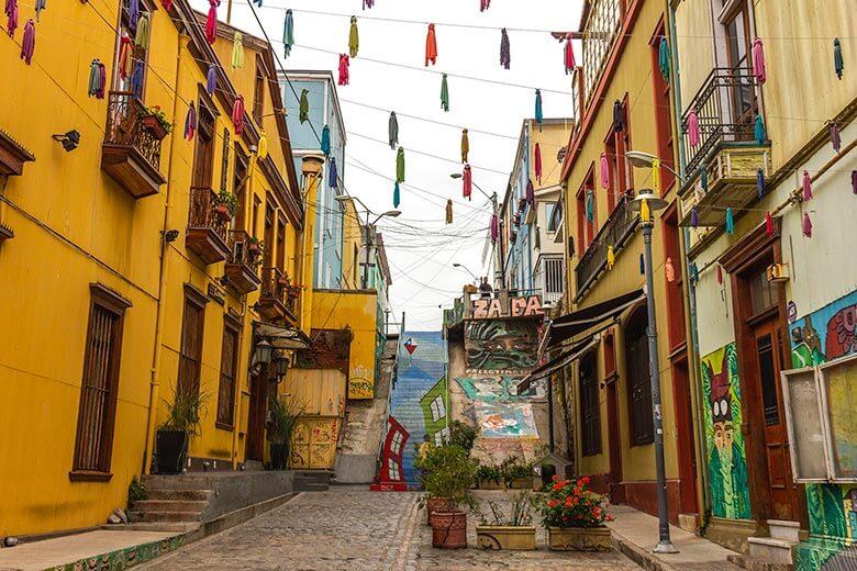 passeio de Santiago para Valparaíso
