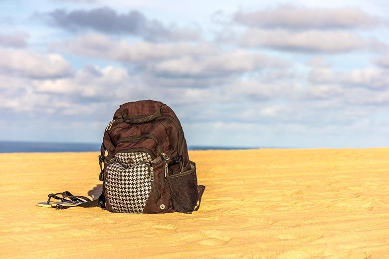 perrengues com malas durante a viagem