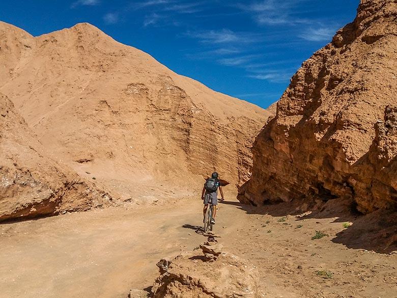 Quebrada de Chulakao, no Atacama