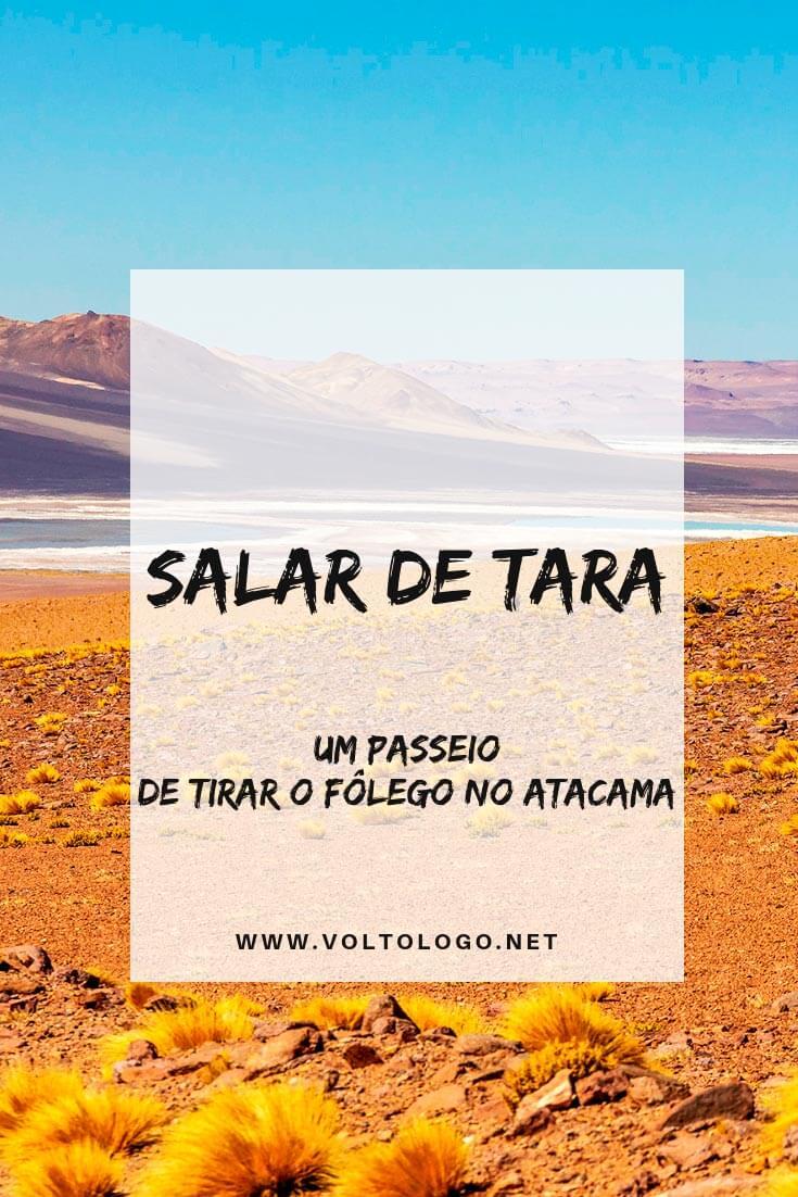 Passeio pelo Salar de Tara, no Deserto do Atacama (Chile): Descubra como é o tour, quais lugares você irá conhecer, quanto tempo dura, quanto custa e se, de fato, vale a pena inclui-lo no seu roteiro!