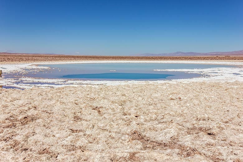 tour barato para as Lagunas Escondidas no Atacama