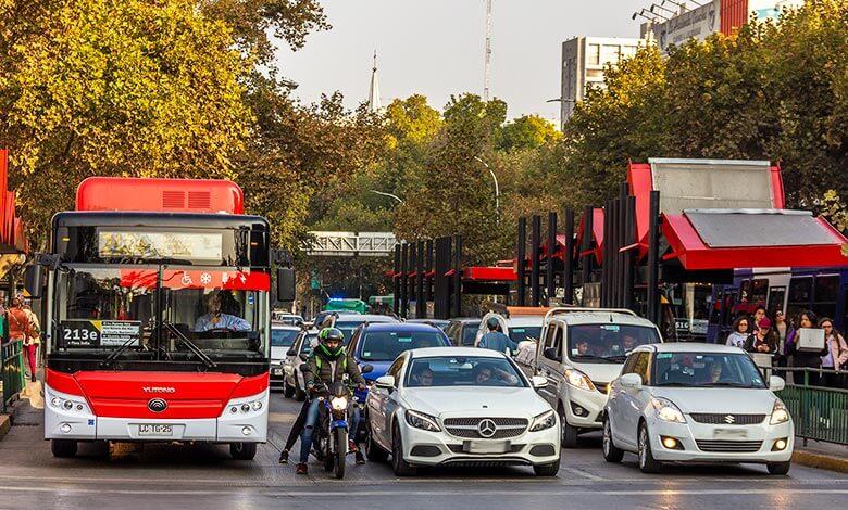 dicas de transporte em Santiago