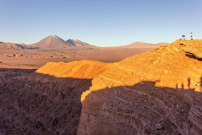 passeio Valle de la Muerte no Atacama