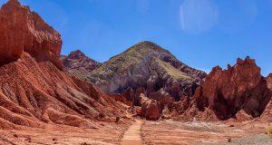 Valle del Arco Iris no Deserto do Atacama
