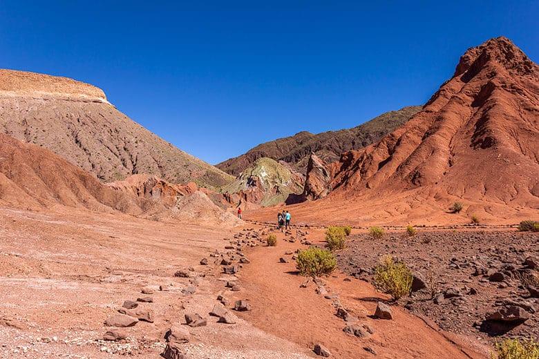 Valle del Arco Iris - tour no Atacama