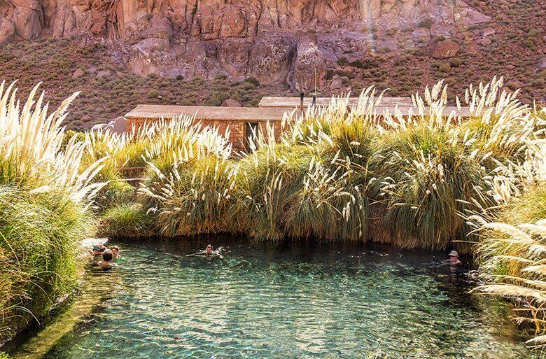 dicas de águas termais no Atacama