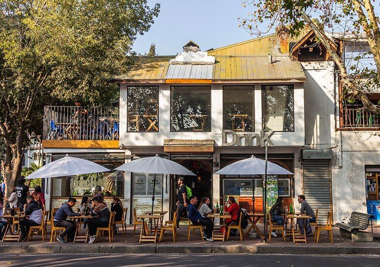 bares para conhecer em Santiago