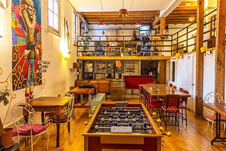 Casa Volante Hostel em Valparaíso