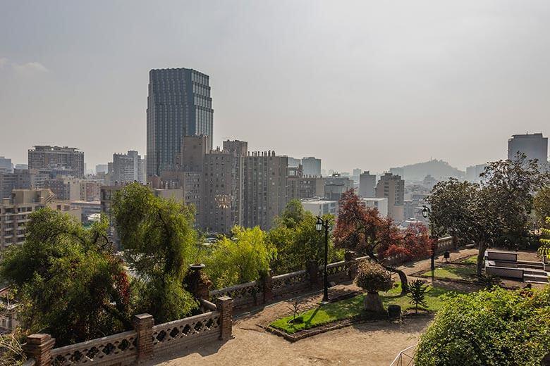 Cerro Santa Lucía em Santiago - dicas