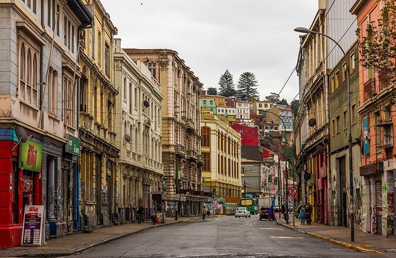 como chegar em Valparaíso no Chile