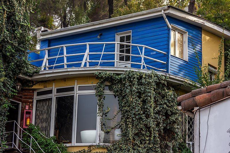 casa do Pablo Neruda em Santiago