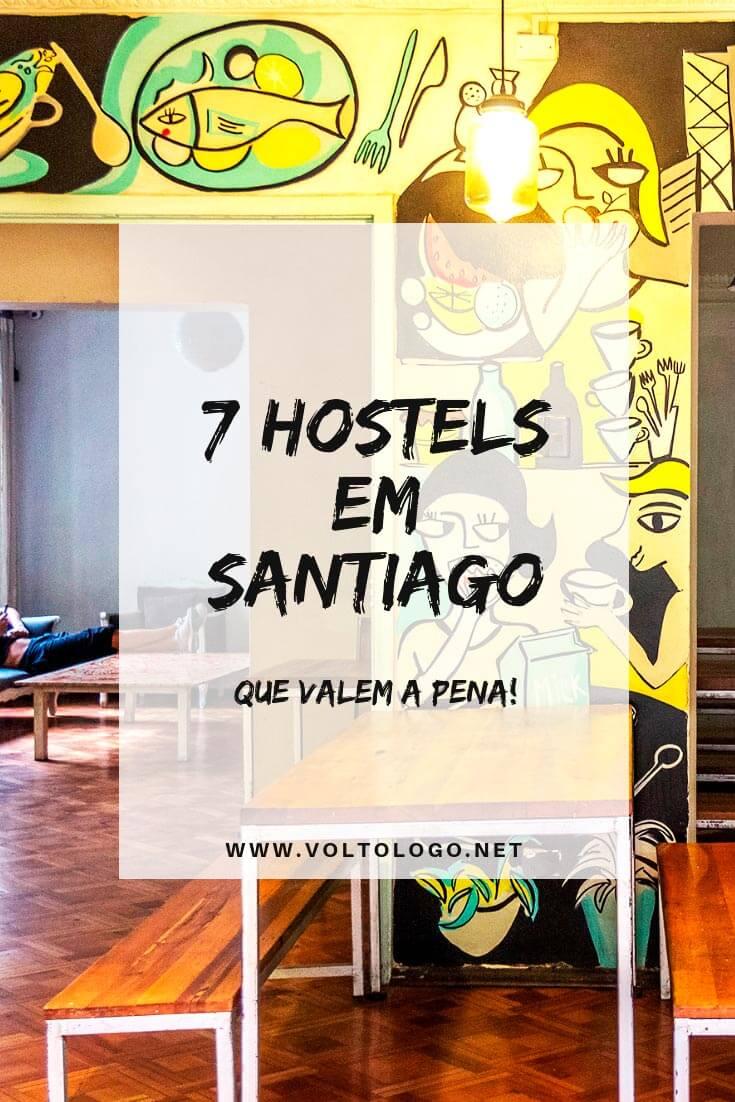 Melhores hostels em Santiago: Dicas de albergues bem avaliados e com boa localização na capital do Chile (bairros Lastarria, Bellavista e Providencia)
