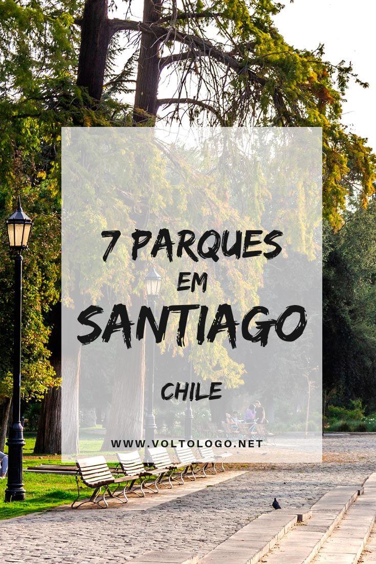 Melhores parques em Santiago, no Chile: Descubra quais são as principais áreas verdes da cidade, quais atrações há em cada uma delas, e quais incluir no seu roteiro de viagem!