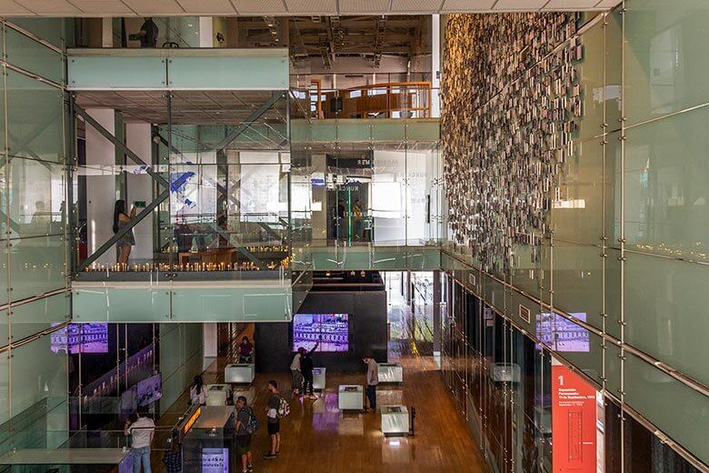 museu da memória em Santiago