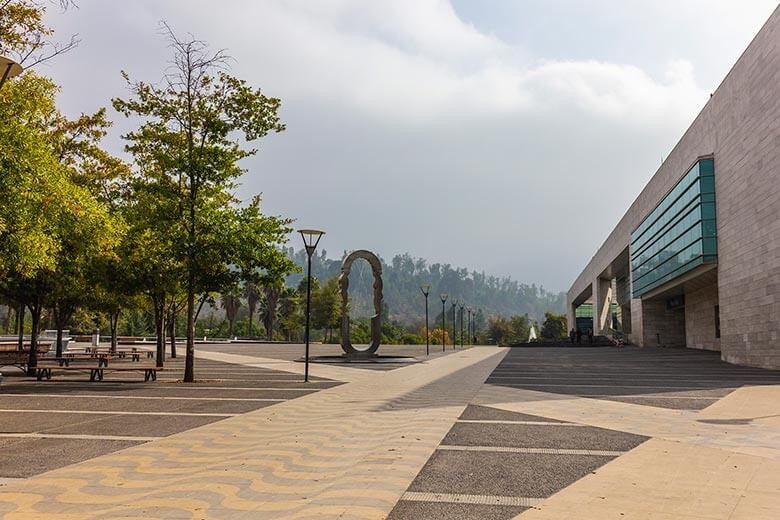 Parque Bicentenario em Santiago