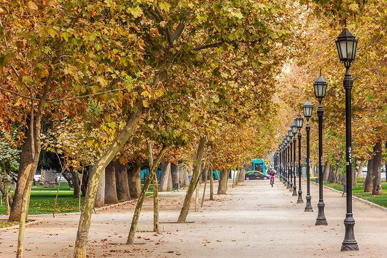 Parque Forestal em Santiago - dicas